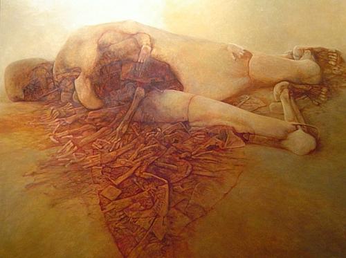 La pintura de Beksinski Beksinski21
